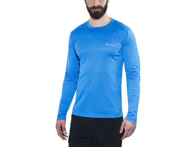 5af330ab Columbia Zero Rules - Camiseta de manga larga Hombre - azul